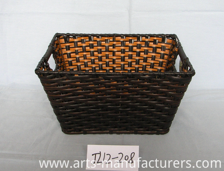 rectangular magzine basket