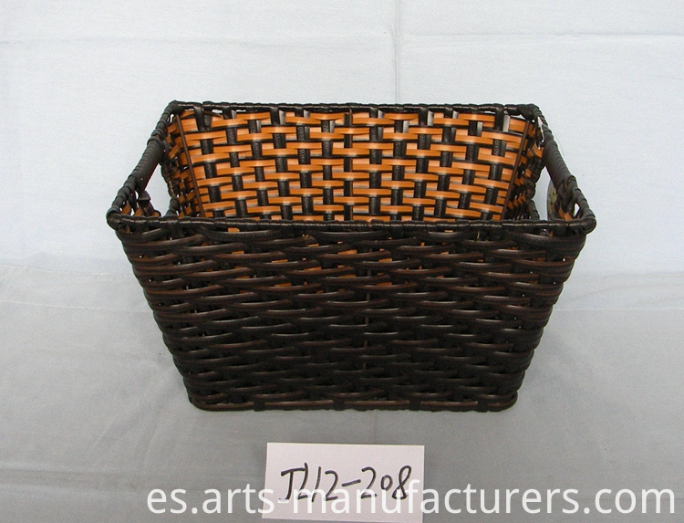 rectangular magzine basket