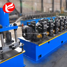Electrical cabinet frame roll forming machine