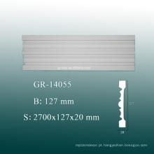 O poliuretano decorativo do preço de fábrica que cinzela o molde do painel para o teto ea parede