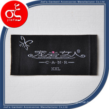 Custom Satin Woven Label Main Label with Size Label