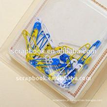 clipe de papel PIN pin metal alfinete de segurança
