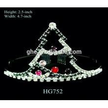 9 años ninguna fábrica de la queja directamente tiara completa la perla del diamante