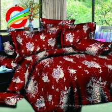 100% Polyester Disperse PIGment print Homing Bedding set 4pcs
