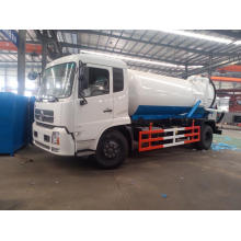 Camión cisterna de succión de aguas residuales al vacío