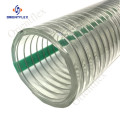 spiral galvanized wire reinforced vacuum suction tubing