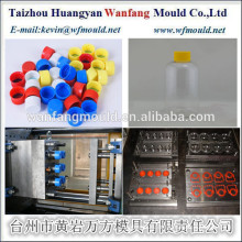 China Taizhou Factory Price 6 Cavities Glass Bottle Cap Injection Mould Manufacturers