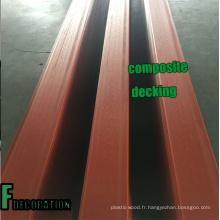 Plancher en bois composite de WPC de Co-Extrusion extérieure