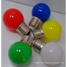 1W bunte LED G45 Birne mit preiswertem Preis