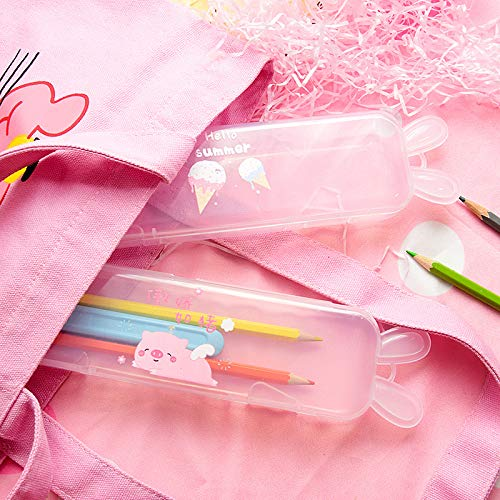 Transparent Ice Cream Pencil Case 1