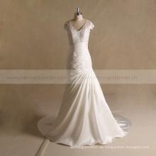 Bondage aline sexy Brautkleid für reife Braut Kleid