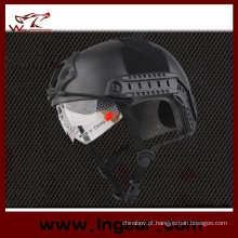 Airsoft Paintball capacete militar estilo Mh com viseira do capacete