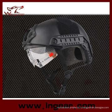 Пейнтбол Airsoft военный шлем шлем Mh стиль с козырьком