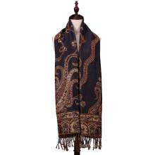 Casaco de inverno de moda feminina com 196 * 90cm