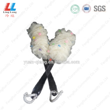 bath brush or loofah with handle cleaning brush