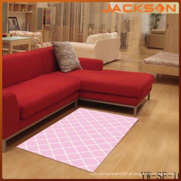 Tapete de tapetes em casa interior decorativo