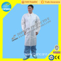 Waterproof PP+PE Lab Coat, Disposable PP+PE Lab-Gown