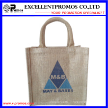 Logo Eco-Friendly Sac de jute promotionnel personnalisé (EP-B581704)