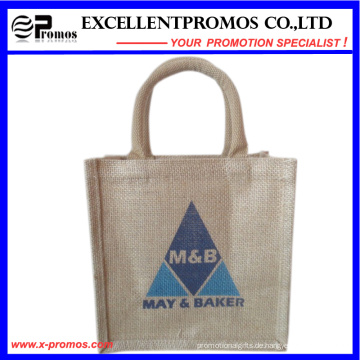 Eco-Friendly Logo Kundenspezifische Werbe-Jute Tasche (EP-B581704)