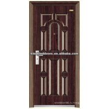 Прочный дизайн дверей Уругвай стали безопасности двери KKD-563 из Китая Топ бренда KKD