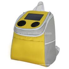 ECEEN 1.35W solar panel 2200 mah solar powered speakers bag