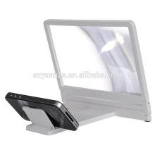 Hot Selling Products 3 fois téléphone portable amplificateur d'écran 3D Cell Phone Screen Magnifier Phone Agrandir l'écran