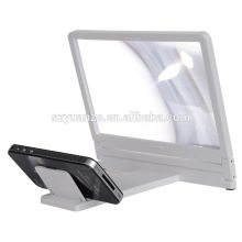 Hot Selling Products 3 vezes Mobile Phone Screen Magnifier Celular 3D Cell Telefone Magnifier tela ampliada