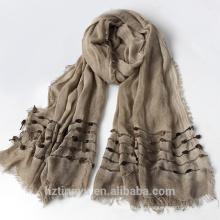 Мода простой Топ продажа женщины хиджаб мусульманский район bandhnu хиджаб шаль украл шарф