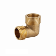 China Sanitary ware Factory wholesale bathroom High quality male shower accessories High quality cheap brass elbow fitting