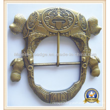 3D Customized Zinc Die Cast&Plating Antique Belt Buckle