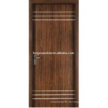 WPC PVC WC Schlafzimmer Bad Tür, billige Projekt Baustellen Türen