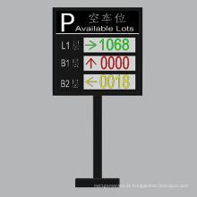 Tela de Guia de Carro LED Colorida P10 Dupla Cor e de Três Camadas