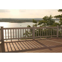 Anti-UV Wood Plastic Composite Decking WPC Decking Laminate Flooring