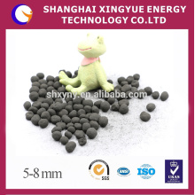 Coal based pelletized activated carbon adsorbent in water treatment