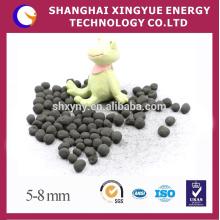 Adsorvente de carbono ativado granulado com base de carvão no tratamento de água