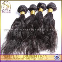 Pelo europeo mágico para las mujeres blancas con paquetes de cabello tejido gratis