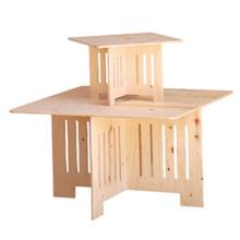 Display-Holzgestell
