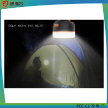 Outdoor Waterproof Magnetic Camping Lantern with 5200mAh Power Bank
