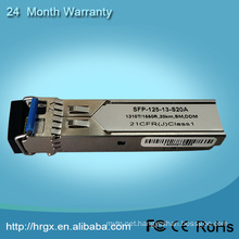 Compatible Fast Ethernet 60km sfp module For Fiber To RJ45 Converter SFP Media Converter