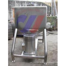 Tanque emulsionante tipo cuadrado sanitario de acero inoxidable para leche