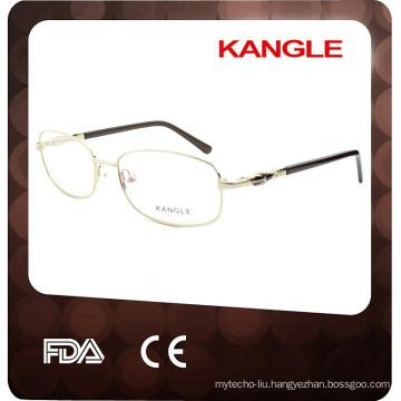 2017 TOP SALE Lady metal optical eyeglasses & metal optical frame