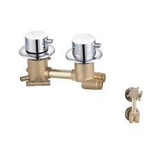 Bathroom Hot and Cold mixer faucet  Dual handle shower room faucets