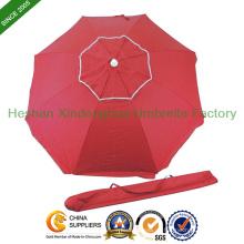 180cm Durchmesser Doppelschicht Outdoor Sonnenschirm für Strand (BU - 0036D)