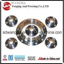 ANSI 16.5 Flanges de montagem de tubos forjados Flange de aço carbono
