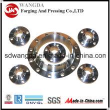 ANSI 16.5 forjado tuberias bridas carbono brida de acero