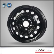 Precio de fábrica Black 5 Hole Car Wheels Rims Auto Ruedas de 15 pulgadas