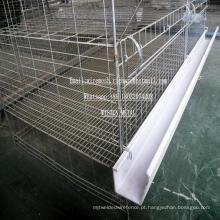Gaiola de galinha de aço da gaiola da rede de arame das aves domésticas para a exploração agrícola