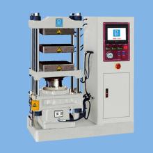 Single PLC plate vulcanizing press machine
