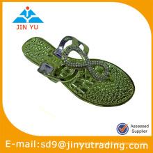 2014 mujeres pvc material para zapatos