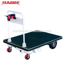 Electric Platform trolley, Hand truck, Hand cart for warehouse storage